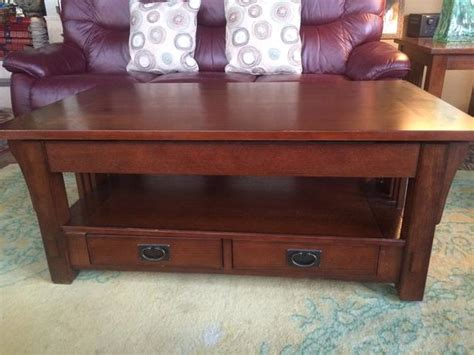 traditional mission style arts crafts coffee table west