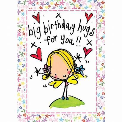 Birthday Hug Hugs Clipart Happy Lucy Juicy