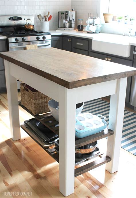 build an island for kitchen diy kitchen island from unfinished furniture to