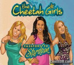 cheetah girls  passport  stardom rom
