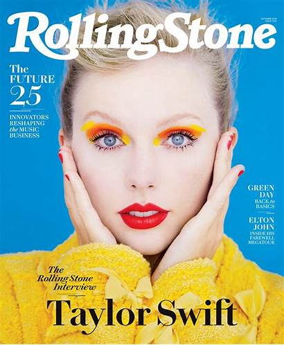 Swift Taylor Rolling Magazine Stone October Edition