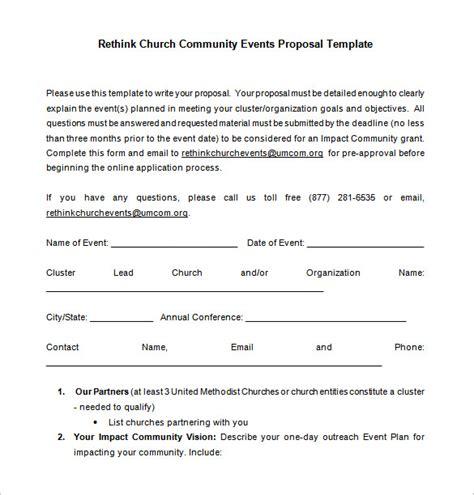 convention planner template 23 event proposal templates pdf doc free premium