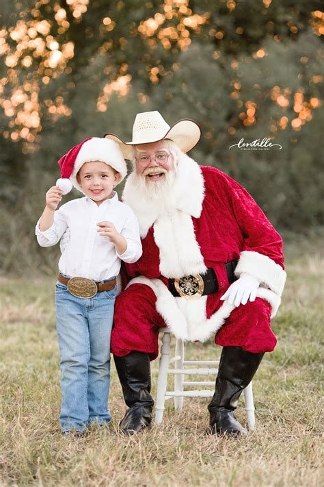 Best Houston Outdoor Santa Sessions   A Sunset With Santa