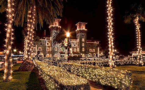 festival of lights florida you ll find a winter wonderland at st augustine s nights