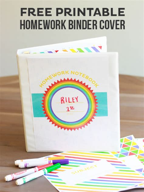 unique creative binder cover templates