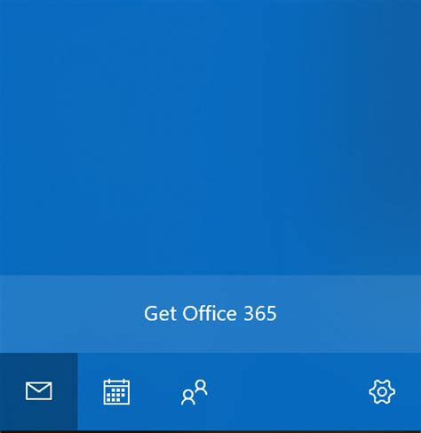 Office 365 Mail App For Windows by Microsoft Starts Showing Ads For Office 365 In Mail App On