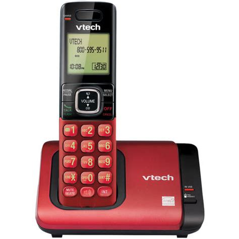 vtech cs6719 16 cordless phone system with caller id call