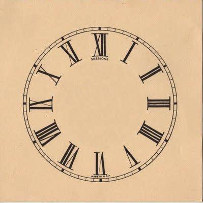 clock face  roman numerals  graphics fairy