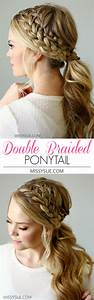 The Prettiest Braided Hairstyles for Long Hair with Tutorials For Creative Juice