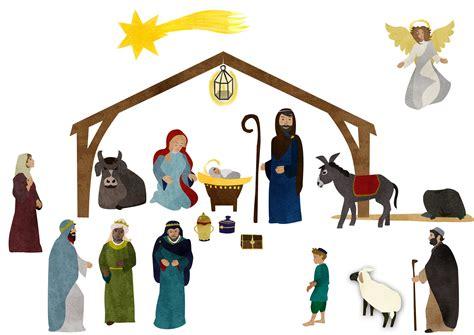 Fensterbilder Weihnachten Vorlagen Krippe fensterbild krippe anregungen