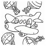 Mobile Coloring Plane Bee Butterfly Moon Star Kindergarten sketch template