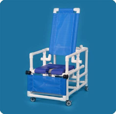 deluxe reclining shower chair commode free shipping