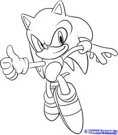 How to Draw Easy Sonic Characters