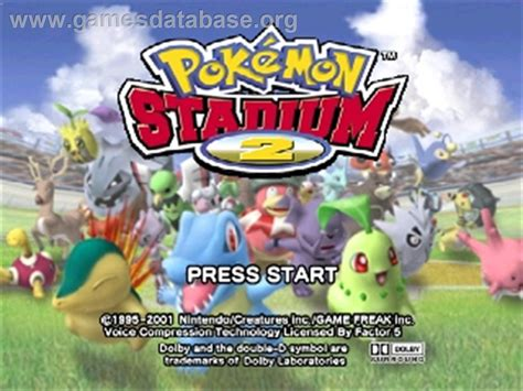 Pokemon Stadium 2 Full Game Free Pc Download Play