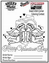 Coloring Corner Sheets Greer Pages Activities Names Contest sketch template