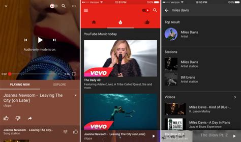You Can Download Youtube's New Music App Right Now