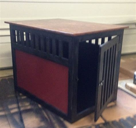 ana white  large dog crate diy projects