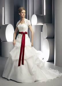 white wedding dress with red sashcherry marry cherry marry With white wedding dress