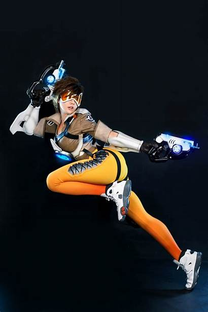 Tracer Cosplay Overwatch Point