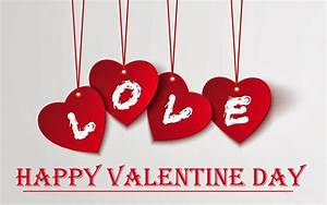 happy valentines day modern 3d hd wallpaper