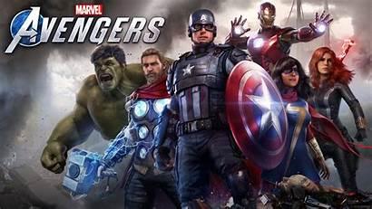 Avengers Marvel Wallpapers Background Games 4k Marvels