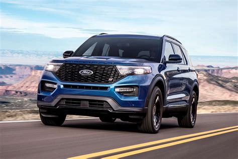 2020 ford explorer sports the 2020 ford explorer st is faster than a range rover