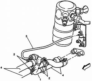 2004 Chevy Silverado Heater Hose Diagram