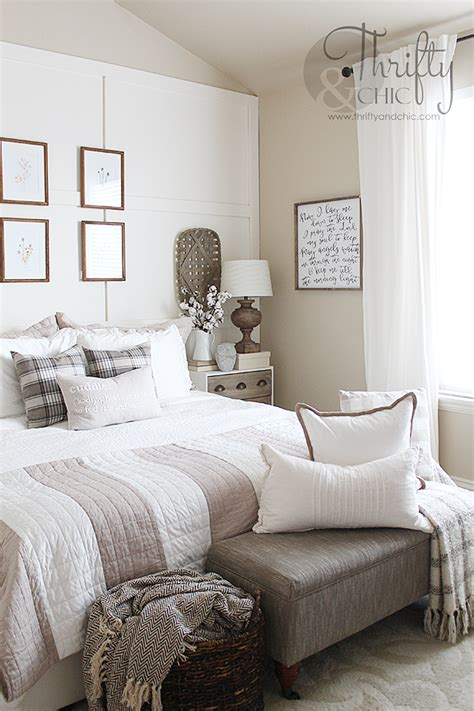 Master Bedroom Makeover  Farmhouse Style Bedroom