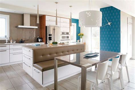 retaper armoire de cuisine cuisine tout en confort papier peint bleu cuisine avec