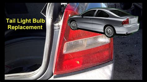 replace  tail light bulb   volvo   p