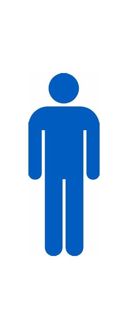 Symbol Male Transparent Clipart Person Bathroom Clip