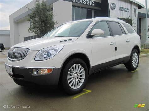 Buick Enclave Cx by 2010 White Opal Buick Enclave Cx 25999866 Gtcarlot