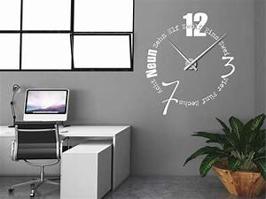 wanduhren modern. ams 9245 wanduhren modern ger uschlose uhren ... - Wohnzimmer Uhren Modern