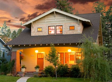 house plans for narrow lots with front garage craftsman style house plans anatomy and exterior