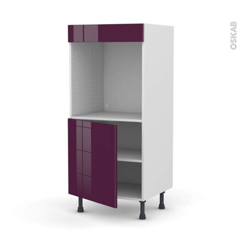 colonne cuisine 30 cm colonne de cuisine n 16 four encastrable niche 60 keria