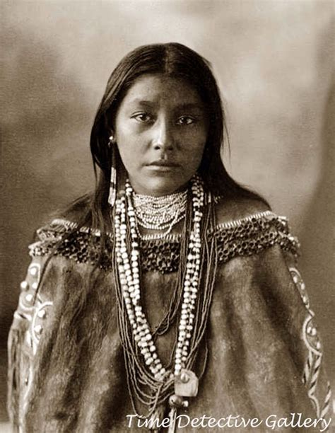 "Native American Chiricahua Apache Woman ""hattie Tom"" 1898"