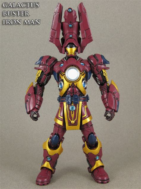 Custom Galactus Buster Iron Man Figure