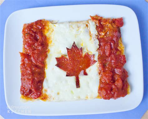 cuisine canada pizza flags
