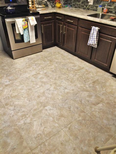 linoleum flooring update kitchen update luxury vinyl tile lvt