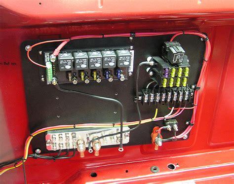 moparts race car wiring
