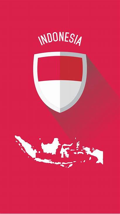 Indonesia Flat Flag Indonesian Wallpapers Smartphone Map