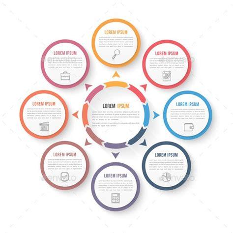 descargar caña template psd circle infographics template psd vector eps ai
