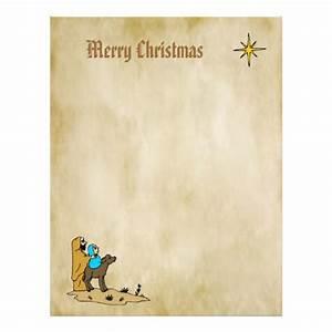 christmas letter paper star of bethlehem letterhead With christian christmas letter paper