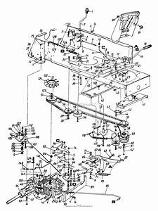Mtd 144z836p190 50 U0026quot  Garden Tractor Hydrostatic Gt