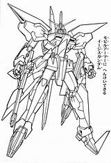 Coloring Gundam Destiny Wing Suit Mobile Drawing Ghost Colorare Trending Days sketch template