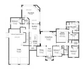 floor plans home house plan 2897 square footage 4 bedrooms country house plans country house