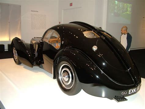"""The crew 2 bugatti type 57 sc atlantic 1936 vs. Cars from the Ralph Lauren Collection :: """"1938 Bugatti Type 57SC Atlantic Coupe. This is one of ..."""