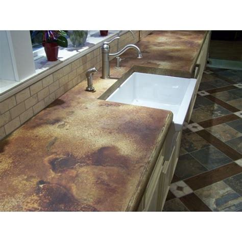 How To Acid Stain Concrete Countertops - z aqua stain uv