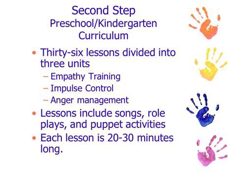 emotion regulation in early childhood a building block to 582 | Second Step Preschool%2FKindergarten Curriculum