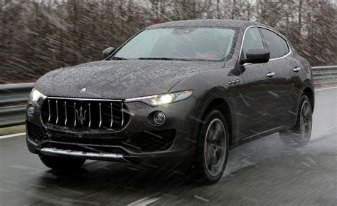 maserati levante suv  drive review car